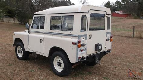 land rover series 3 1972 land rover series iii