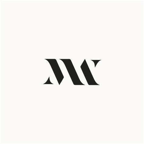 design a monogram logo logo monogram m w material world logo pinterest