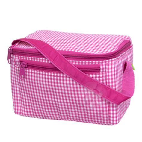 Lunch Box Polos Pink pink gingham lunch box grove giftables