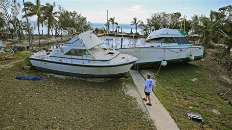 hurricane boats florida more than 1 300 boats damaged by hurricane irma in keys