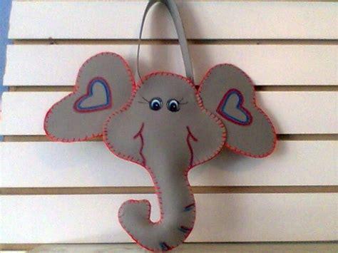 gorro de elefante con goma espuma manualidades infantiles como hacer una mascara de elefante con foami imagui