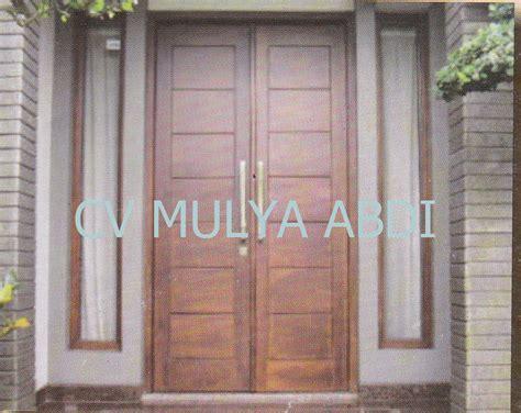 Pintu Garasi Kayu Ker harga kusen pintu jendela kayu contoh gambar terbaru autos post