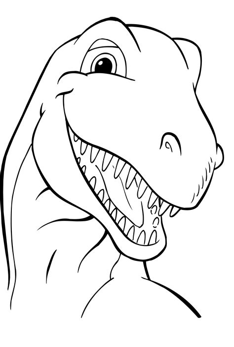 Free Printable Dinosaur Coloring Pages For Kids Coloring Book Pages To Print Free