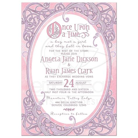 time on wedding invitation emejing once upon a time wedding invitations contemporary