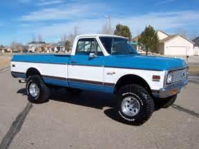 1972 Chevrolet Truck For Sale 1972 Chevrolet K10 4x4 Cheyenne Restored Rust