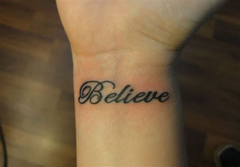 inner wrist tattoos words 25 wonderful word tattoos for creativefan