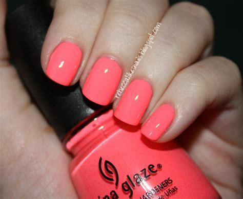 China Glaze Flip Flop likes nails china glaze flip flop