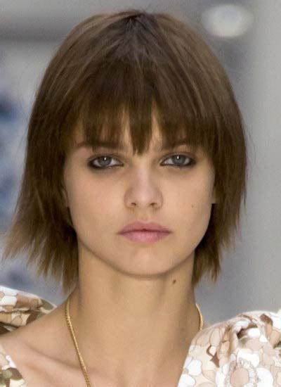 hairstyles with banes cut to eyebrows latest haircut trends and hairstyles for spring summer