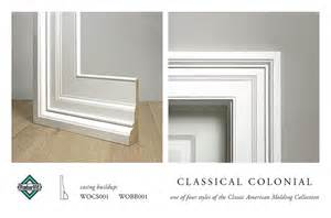 Colonial Molding classical colonial casing molding buildup casing buildup