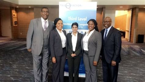 National Black Mba Conference by Mba Candidates Participating At The Nbmbaa
