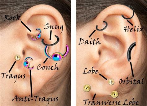 how long does a tattoo take to heal 25 best ideas about piercing chart on
