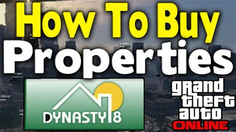 How To Purchase A Garage In Gta 5 by Gta How To Buy Properties Apartments Garages
