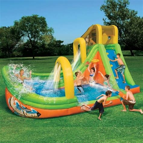 backyard water slide splish splash