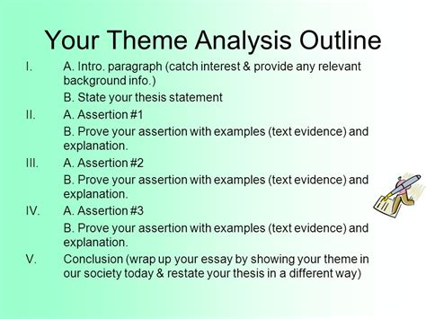 theme thesis exles theme statements vs topics ppt video online download