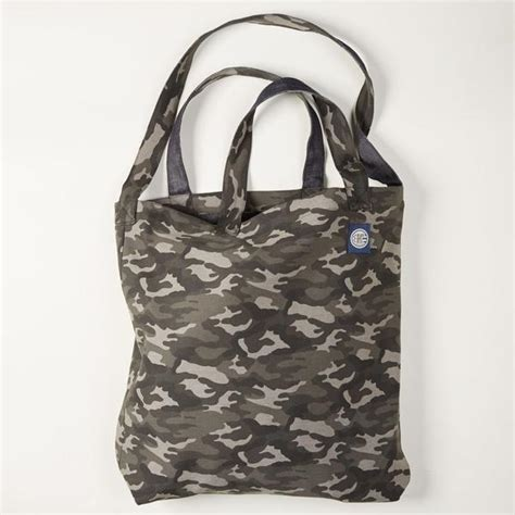 Target Basic Denim Canvas Tote by Camouflage Denim S Tote Bag Blade Blue