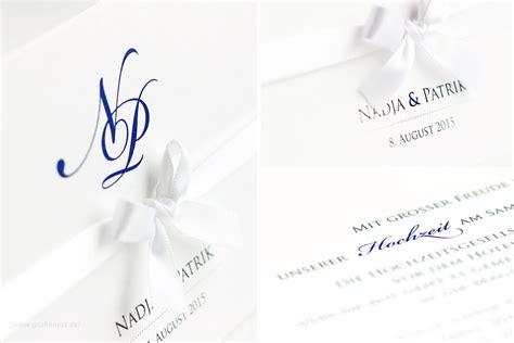 Stilvolle Hochzeitseinladungen stilvolle hochzeitseinladung mit monogramm design