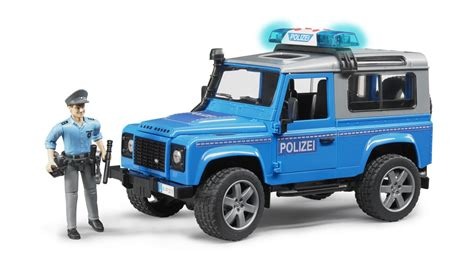 land rover agents land rover politieauto met politieagent 02597 bruder