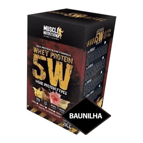 5w supplement nutritions whey protein 5w 2 0 kg baunilha