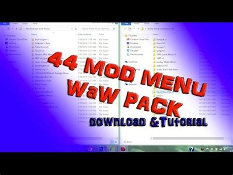 Waw Mod Menu Tutorial | 2015 44 waw mod menu pack usb only no jtag rgh