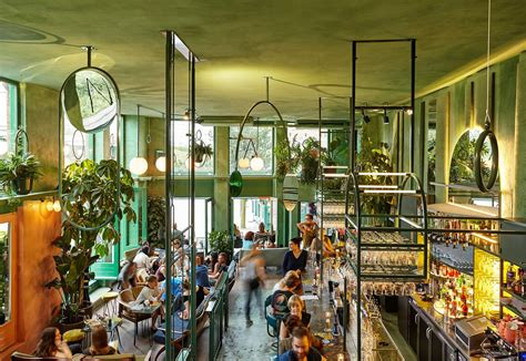 best plant store in amsterdam bar botanique in amsterdam by studio modijefsky