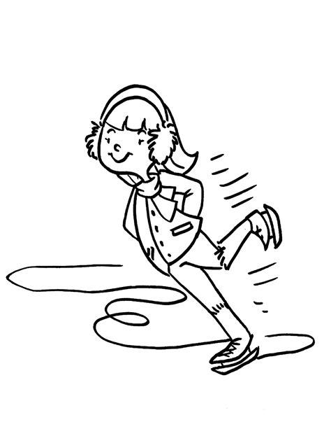 Kids Ice Skating Coloring Pages Az Coloring Pages Coloring Pages Skating