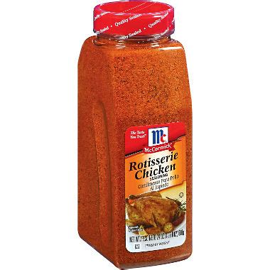 Spicy Chicken Non Msg No Msg Added mccormick 174 rotisserie chicken seasoning 24 oz sam s club