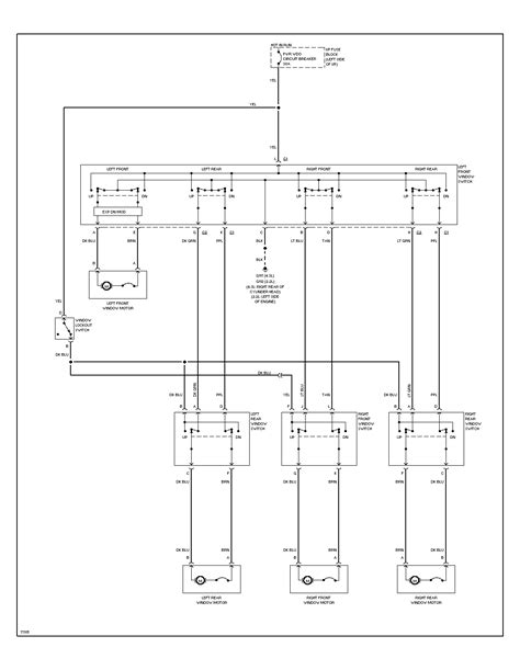 power window motor diagram wiring diagram