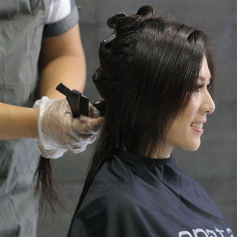 Manicure Rambut pewarnaan laminating anata salon bandung most