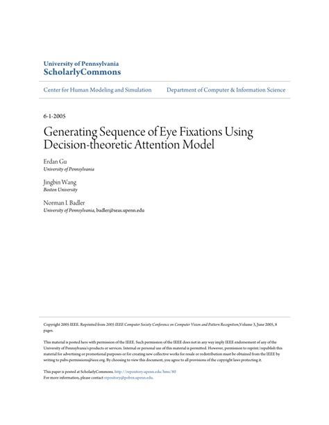 image pattern recognition javascript generating sequence of eye fixations using decision