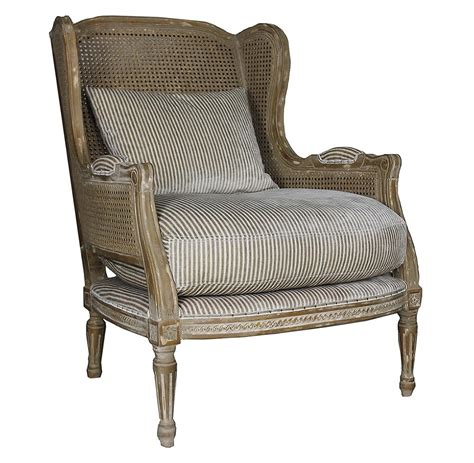 country armchairs montpelier french country buff wing back salon arm chair