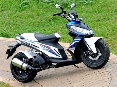 Suzuki Modifications Suzuki Skydrive Modification Scooter Freak