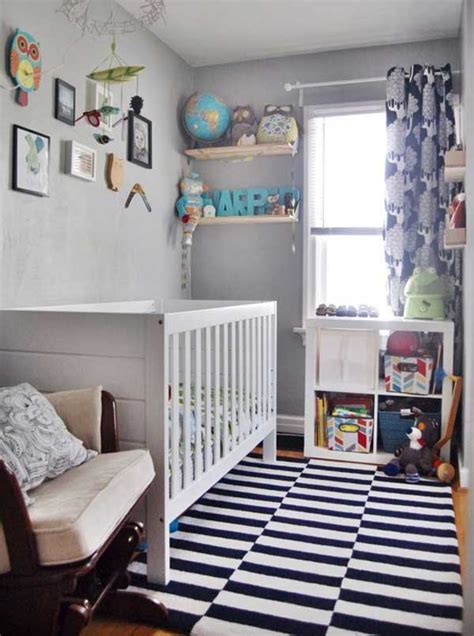 20 worthy decorating ideas for small baby nurseries