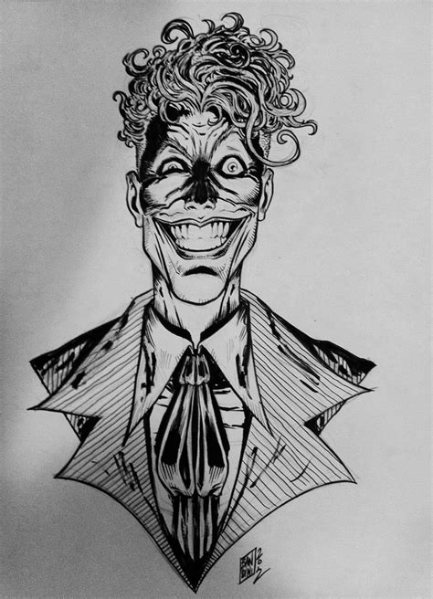 joker tattoo black and white joker tattoo commission by michelebandini on deviantart
