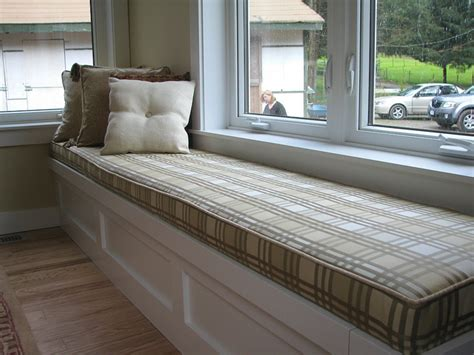 making a bench seat cushion 6 steps to make custom window seat cushions