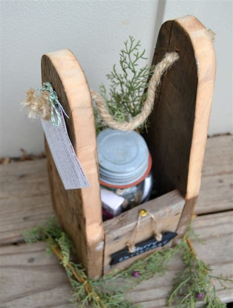 diy wood gifts diy wood gift bag jar gift giveaway