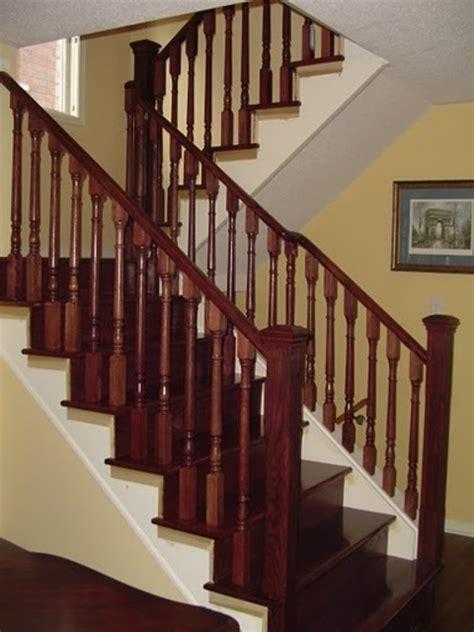 restaining banister rail gmano railings railings in toronto homestars