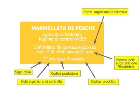 etichetta alimenti l etichetta dell alimento biologico