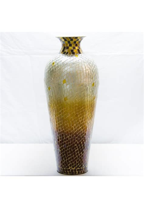 Decorative Glass Vases by Buy 20 Quot Amphora Nouveau Vase Metal Floor Vase With