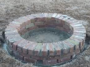 backyard fire pit diy build a brick fire pit for your backyard