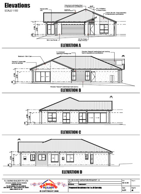 floor plan elevations floor plans building sanctuary construction of our new home