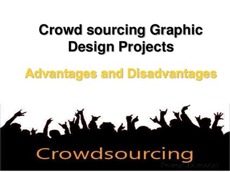 graphic design crowd crowdsourcing graphic design projects advantages and