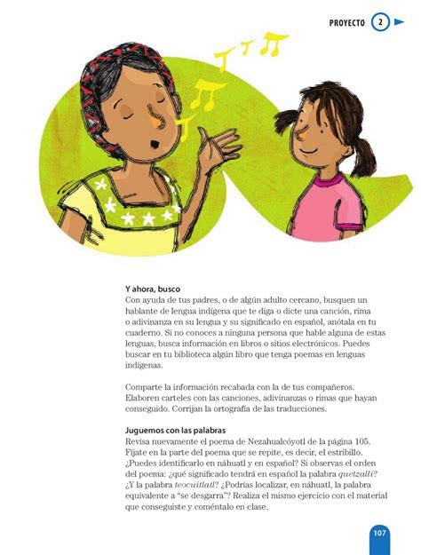 poemas e n lengua indigenas espa 241 ol 6to grado by rar 225 muri issuu