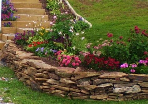rock garden ideas home outdoor decorative rock wall garden