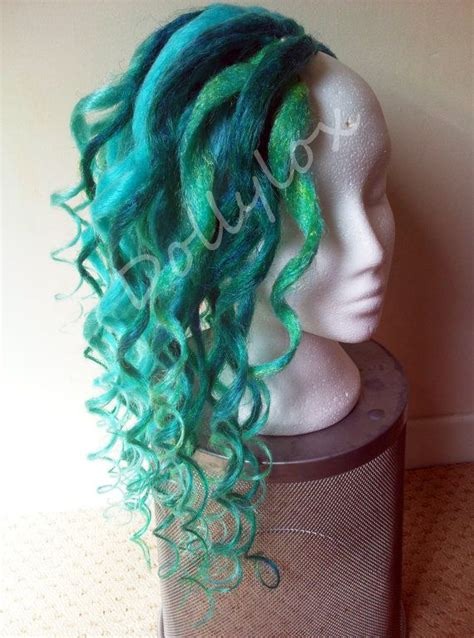 dradlock wool hairstyle 17 best images about extensions synthetic dreads on