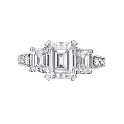 estate betteridge collection 2 28 carat emerald cut
