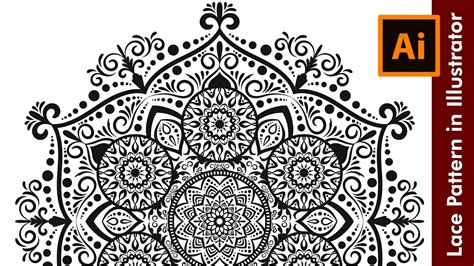 lace pattern ai free how i draw a floral lace pattern in adobe illustrator