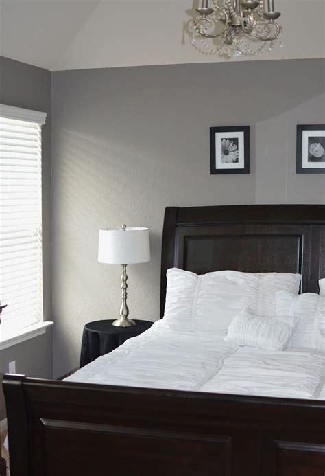 grey master bedroom behr creek bend grey white