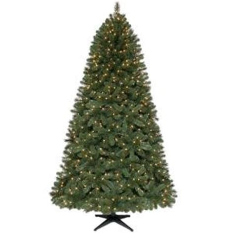 amazon com pre lit wesley pine 7 6 ft christmas tree 7