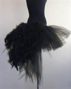Short Glass Vase Black Swan Tutu Skirt Burlesque Moulin Rouge All Sizes
