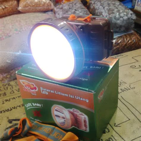 Senter Kepala Merk Doni jual senter dony 190 cahaya 10watt senter doni